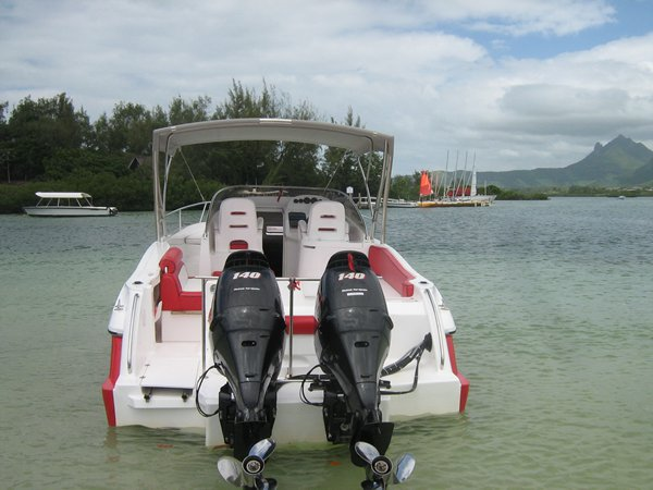 Boat rental in Trou D´Eau Douce,