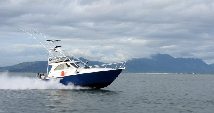 Experience Nadi on board this elegant motor boat