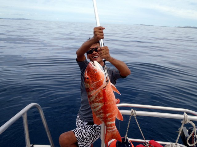 Boating is fun with a Offshore sport fishing in Denarau Island
