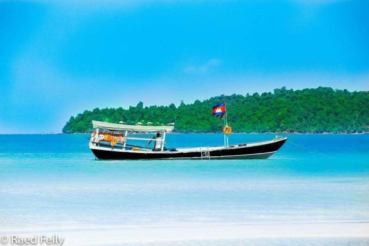 Discover Cambodia in style boating on this motor boat rental