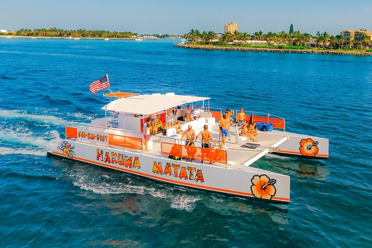 Hakuna Matata - Large Party Catamaran in Sunny South Florida
