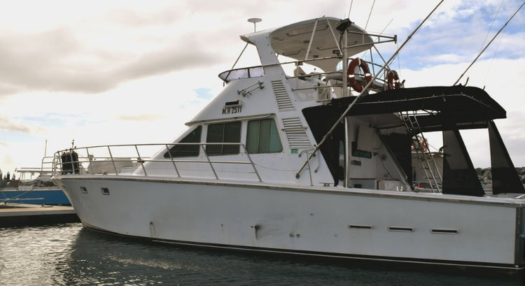 56.0 feet Custom in great shape