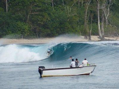 Mega yacht boat rental in Padang, Indonesia