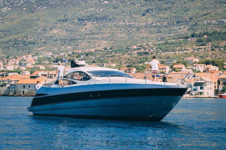 Get on the water and enjoy Split region in style on our Ferretti Yachts Group Pershing 50