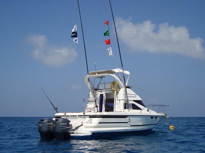 Enjoy luxury and comfort on this Zanzibar motor boat rental