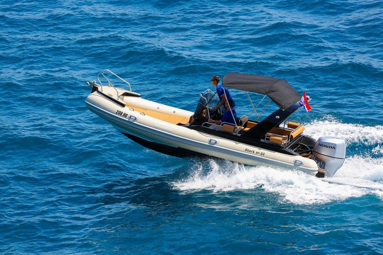 SPEED BOAT SHARK 23, RENT A BOAT, BOAT TRANSFERS, EXCURSIONS, PRIVATE TOURS..