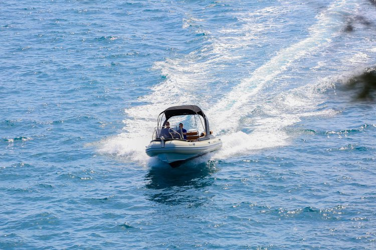 Boating is fun with a Motor boat in Split