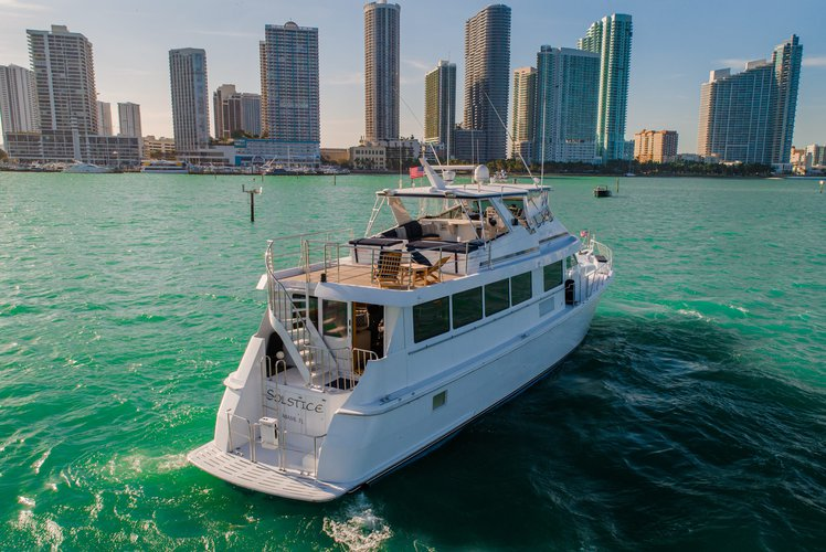 Hatteras's 80.0 feet in Miami