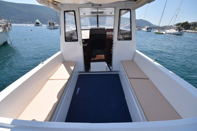 Boat for rent Kvarnerplastika 27.9 feet in Herceg Novi, Montenegro
