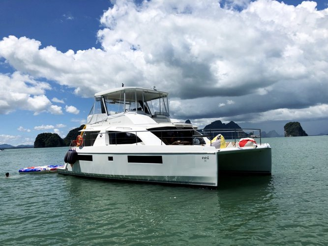 Experience Phuket on board this elegant catamaran