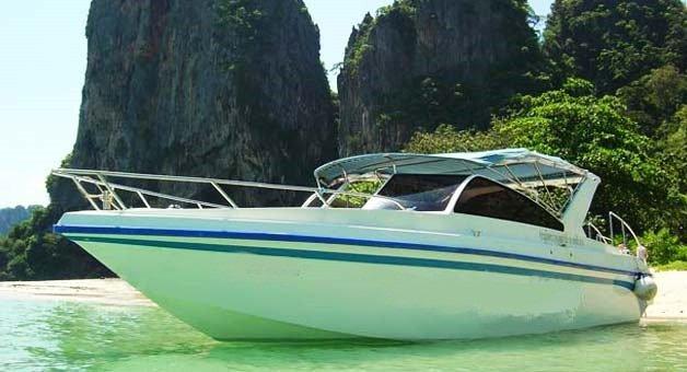 Experience Phuket on board this elegant motor boat.