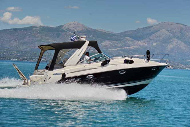 Boat for rent Monterey 33.5 feet in Mykonos,