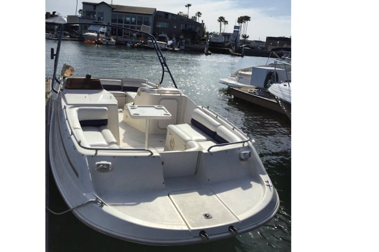 24ft Monterey, has wakeboard tower, Capacity 12, full surround sound , party and cocktail boat. Family time or friends. It does it all.