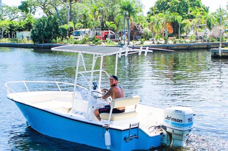 Boat for rent Palm Beach 19.0 feet in Dusky Marine, FL