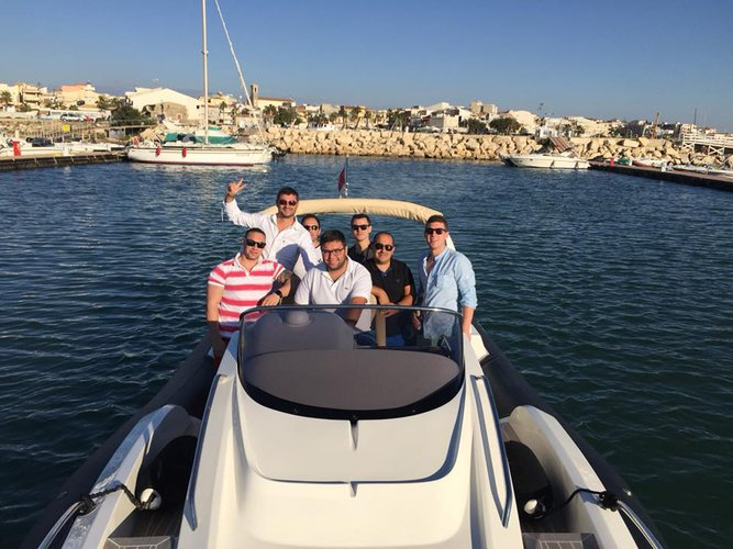 Boating is fun with a Rigid inflatable in Zurrieq