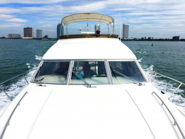 Discover Pattaya surroundings on this 480 Princess boat