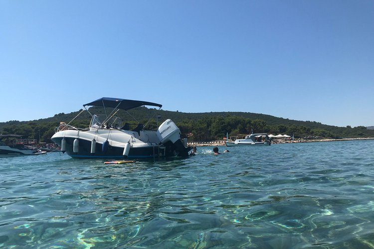 Motor boat boat for rent in Trogir, Split, Brac Island