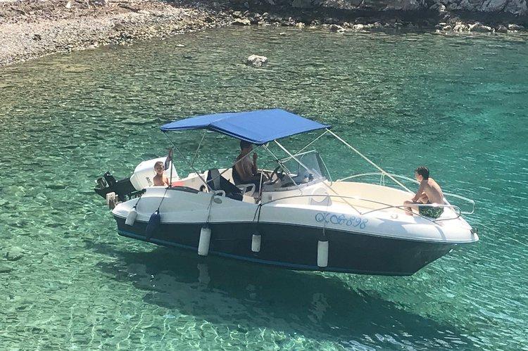 Motor boat boat rental in Trogir, Split, Brac Island, Croatia