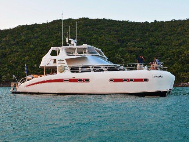 Enjoy luxury and comfort on this Pattaya catamaran boat rental
