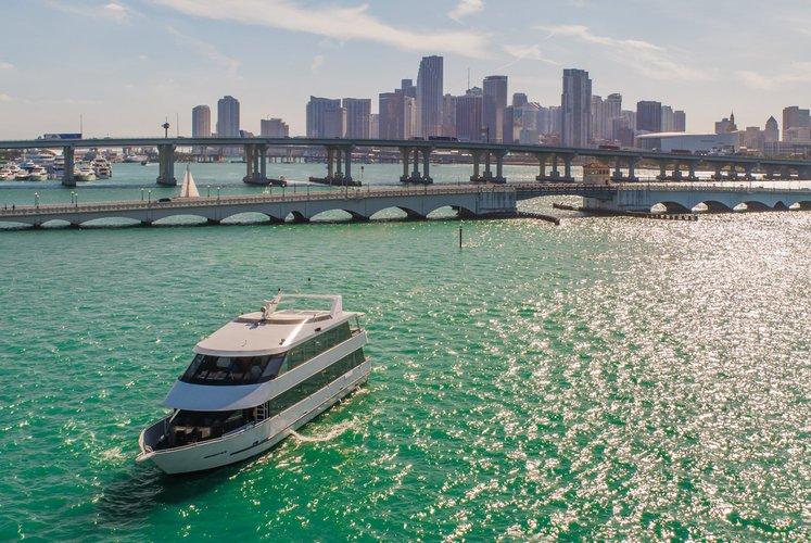 Mega yacht boat rental in Sea Isle Marina & Yachting Center, FL
