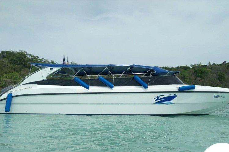 Boat for rent Speedboat Custom Build 39.0 feet in Royal Phuket Marina, Thailand