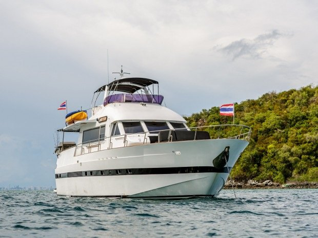Boat for rent Tarquin 62.0 feet in Pattaya, Thailand