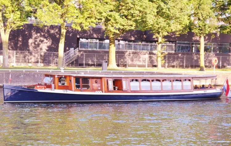 Cruise in style on this beautiful electric boat for rent