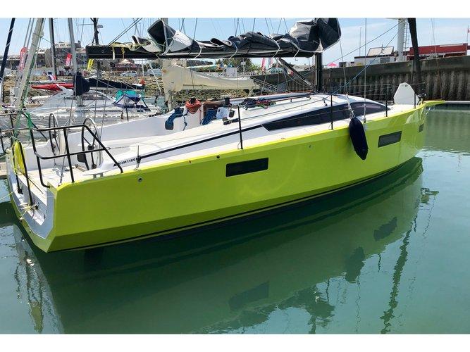 Experience La Rochelle on board this elegant sailboat