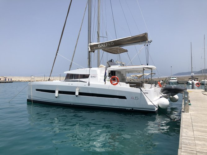 Hop aboard this amazing sailboat rental in Road Town!