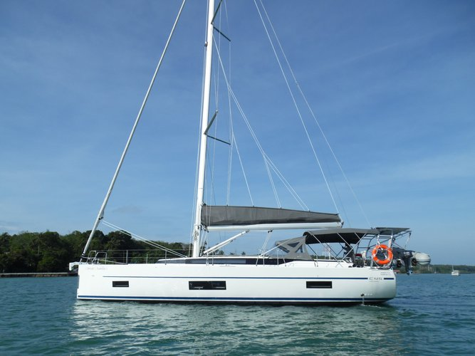 Enjoy luxury and comfort on this Phuket sail boat rental