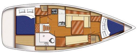 Boat for rent Beneteau 37.0 feet in Fort Burt Marina, British Virgin Islands