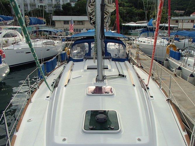 Monohull boat rental in Fort Burt Marina, British Virgin Islands