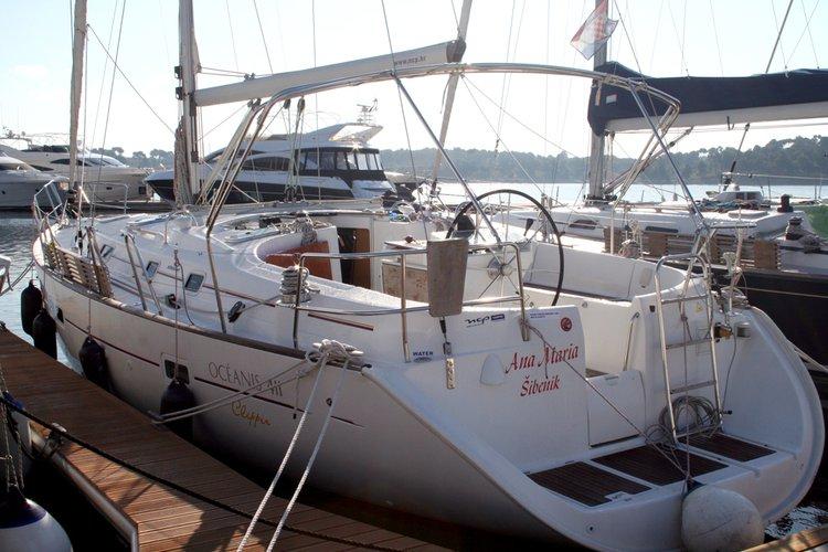 Boat for rent Bénéteau 41.0 feet in Marina Mandalina, Sibenik, Croatia
