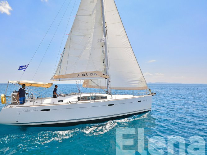 Enjoy Athens, GR to the fullest on our comfortable Beneteau Oceanis 43