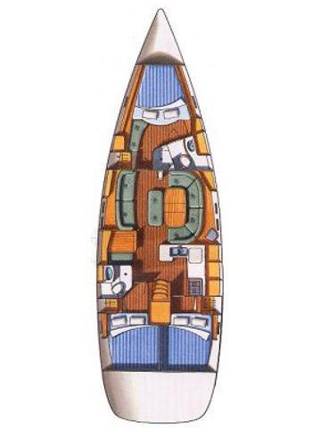 Discover Split region surroundings on this Oceanis Clipper 473 Bénéteau boat
