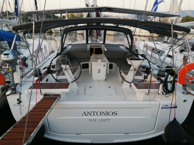 Rent this Beneteau Oceanis 51.1 for a true nautical adventure