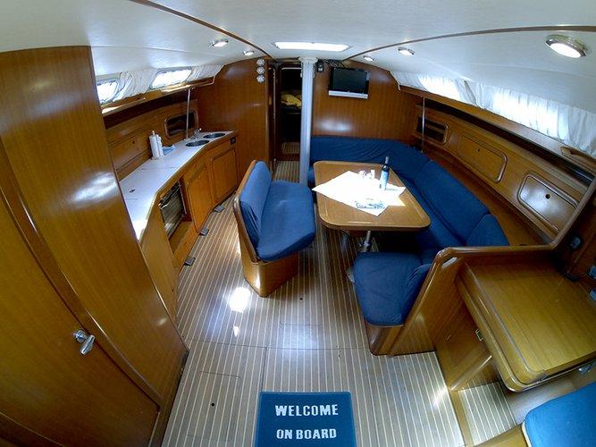 Discover Šibenik region surroundings on this Grand Soleil 46.3 Cantiere Del Pardo (Grand Soleil) boat