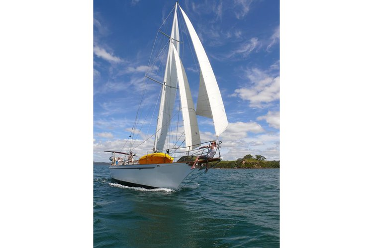 Discover Russell in style boating on this sail boat rental