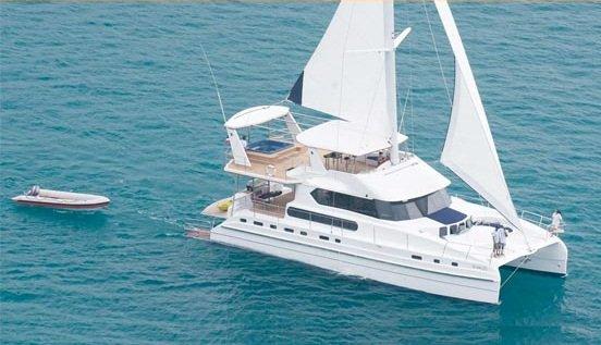 Hop aboard this amazing catamaran rental in Thailand!