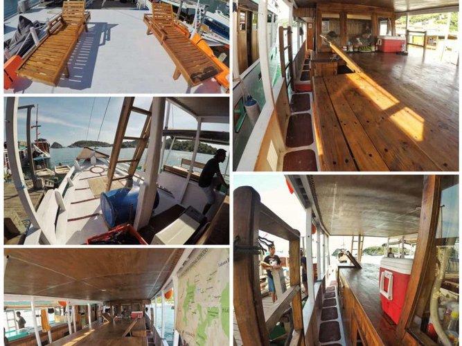 Gulet boat rental in Labuan Bajo, Indonesia