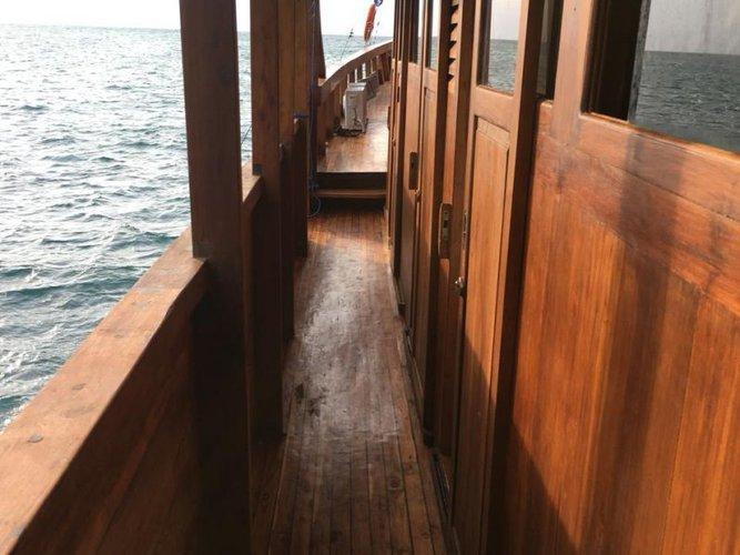 Discover Labuan Bajo surroundings on this Custom Custom boat