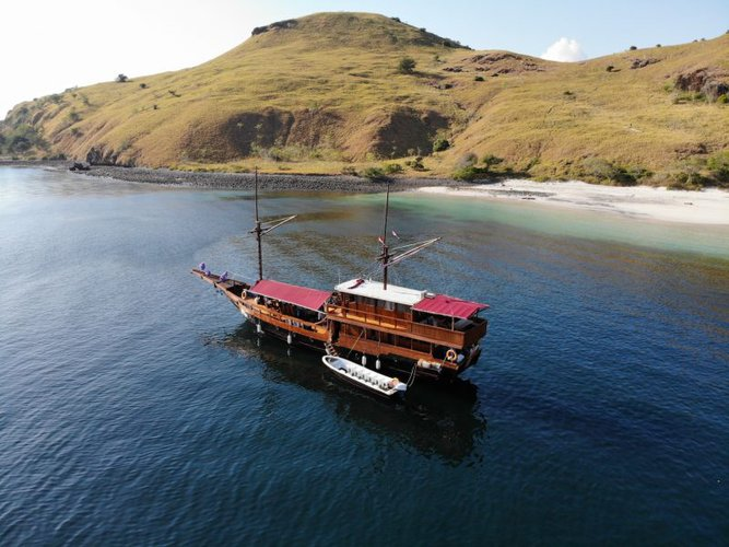 Boating is fun with a Gulet in Labuan Bajo