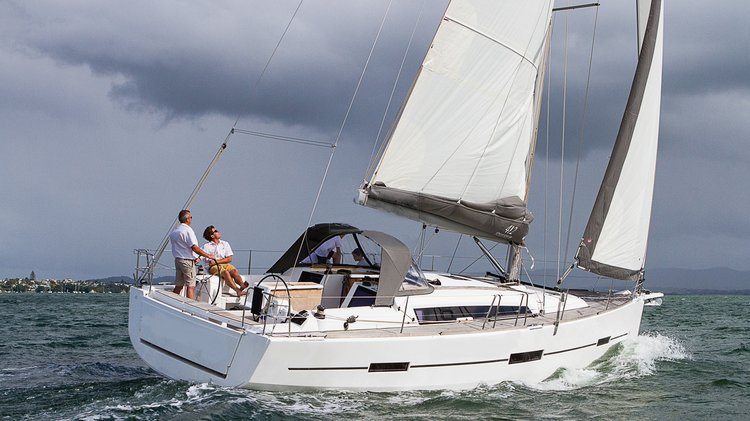 Experience Auckland on board this elegant sail boat