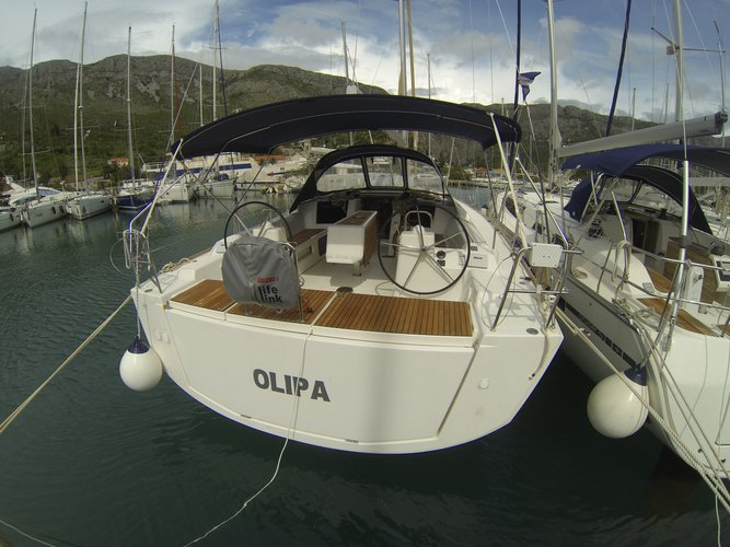 Experience Dubrovnik, HR on board this amazing Dufour Yachts Dufour 460 Grand Large
