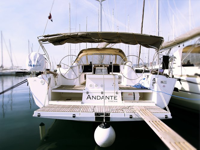 Unique experience on this beautiful Dufour Yachts Dufour 500 Grand Large