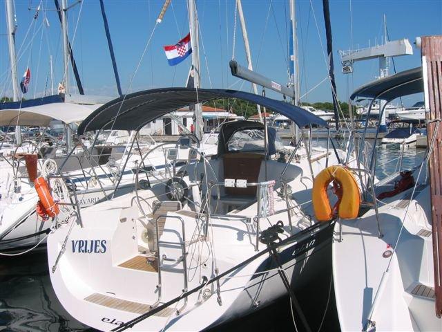 This sailboat charter is perfect to enjoy Vodice