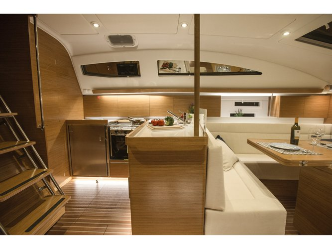 Climb aboard this Elan Elan 45 Impression for an unforgettable experience