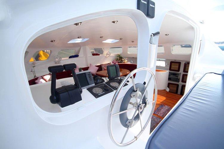 Catamaran boat rental in Phuket 83100, Thailand