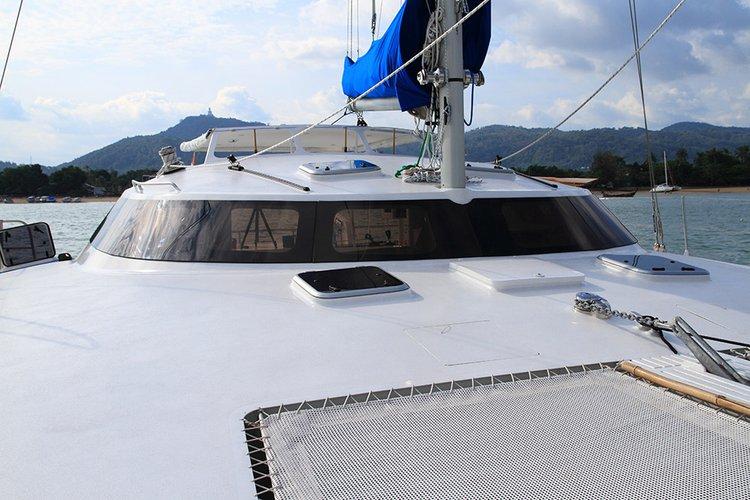 Catamaran boat for rent in Phuket 83100