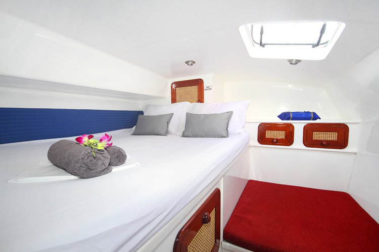 Discover Phuket 83100 surroundings on this 48 Faraway boat